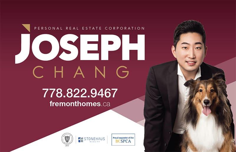 Joseph Chang Fremont Homes